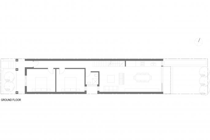 Newtown House Level 1 plan presentation